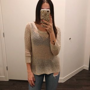 Kensie Crotchet Sweater